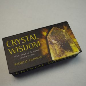 Karma Care has crystal wisdom affirmation cards for sale